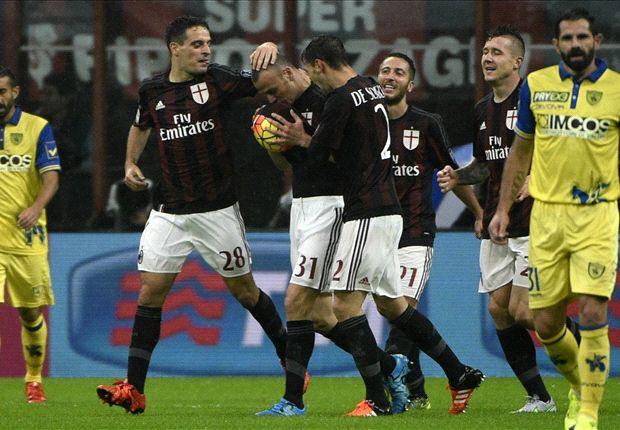 Hasil Pertandingan AC Milan 1-0 Chievo Verona