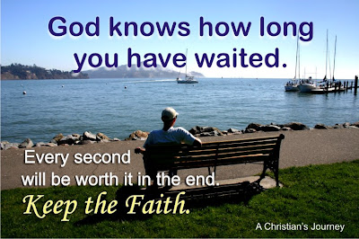 God knows how long you waited