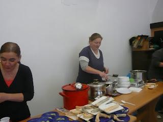 Sopron, ételosztás, Kati