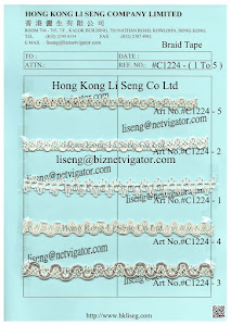 Braid Tape Supplier - Hong Kong Li Seng Co Ltd