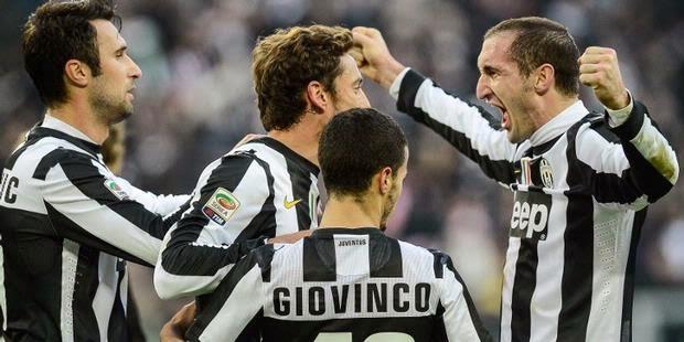 Hasil Pertandingan Juventus vs Atalanta 6 Mei 2014