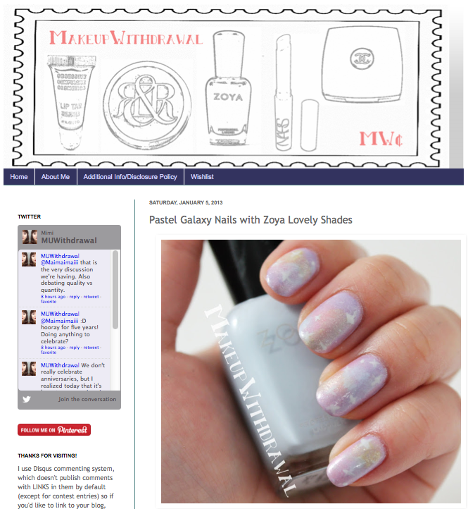 Six Spring Nail Looks With The Zoya Lovely Collection... | Zoya Nail ...