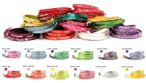 Good Works Happy Days Wrap Bracelet