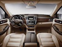 Mercedes-Benz M-Class W 166 Interior