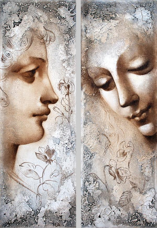 Ira Tsantekidou 1967 | Greek Art Déco painter