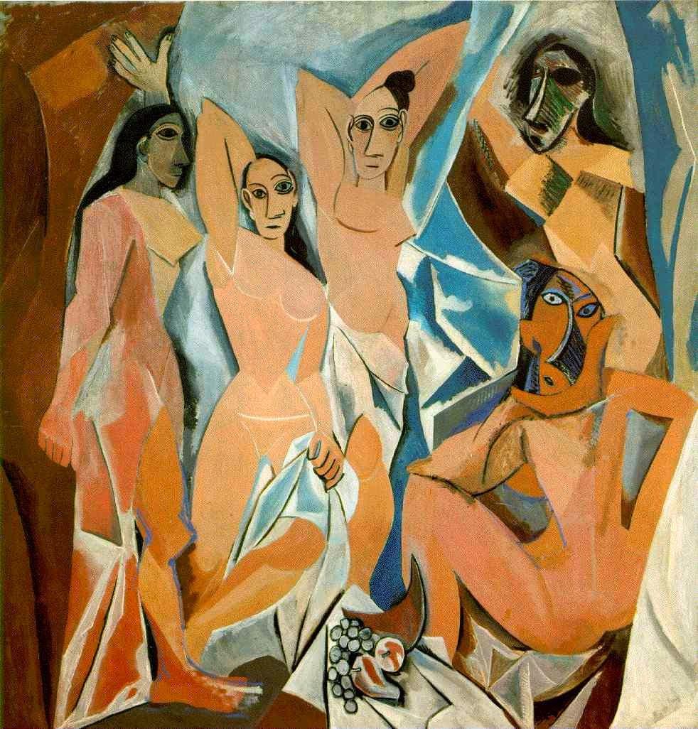 Las señoritas de Avignon (Pablo Picasso, 1907)