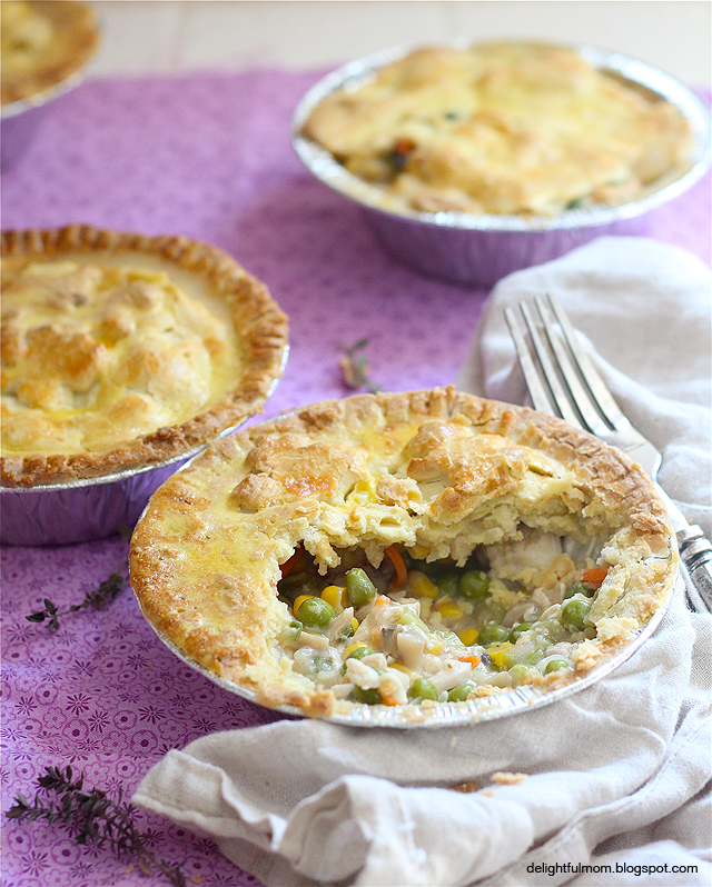 Chicken Pot Pie With Olive Oil Crust