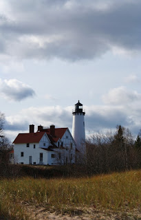 Point Iroquois Lighthouse, Bay Mills, MI