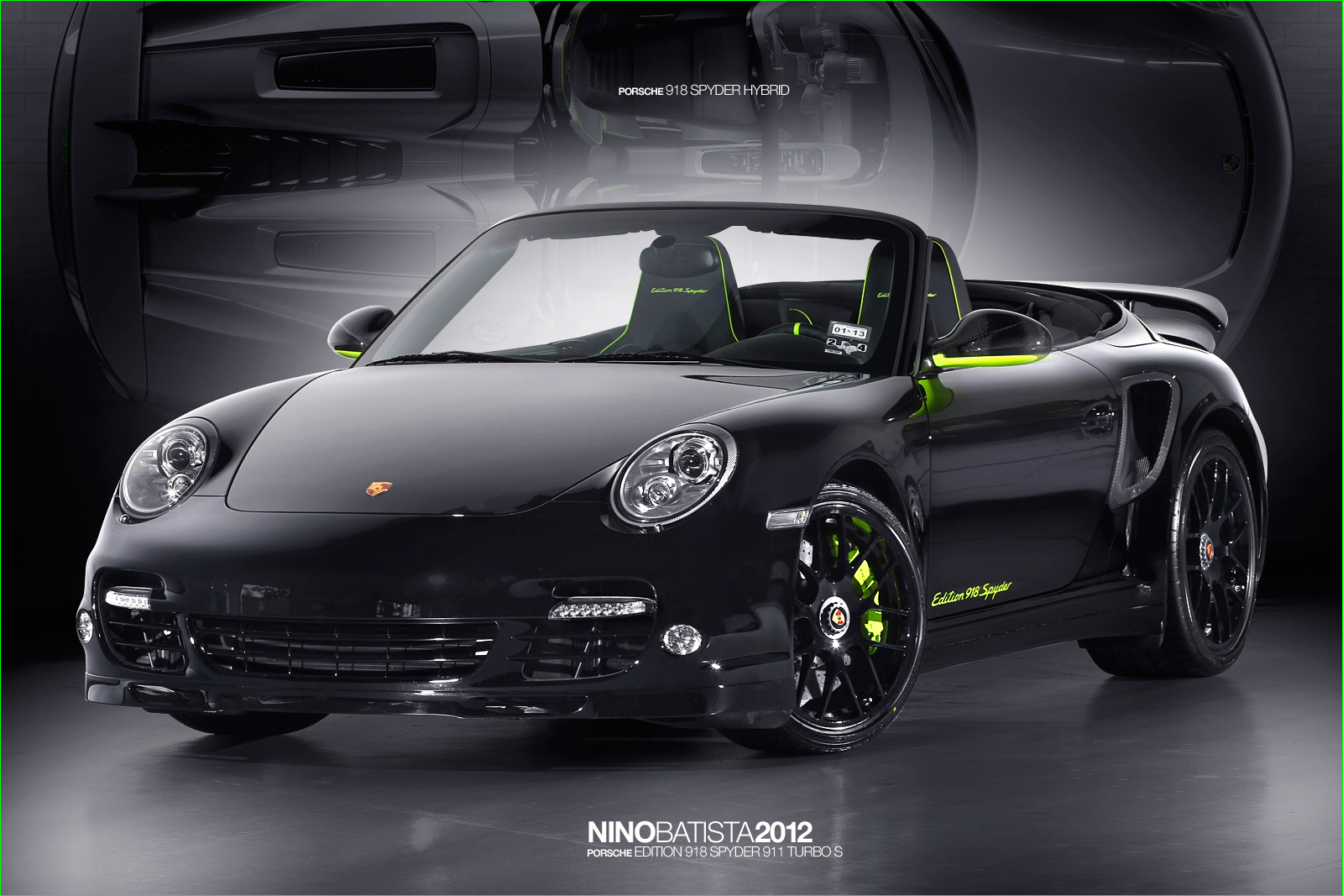 2012 porsche 911 turbo s edition 918 spyder price specs autos post. Black Bedroom Furniture Sets. Home Design Ideas