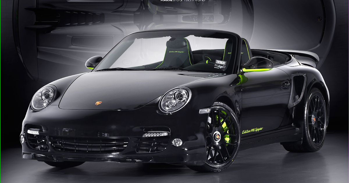 2012 porsche 911 turbo s edition 918 spyder price specs. Black Bedroom Furniture Sets. Home Design Ideas