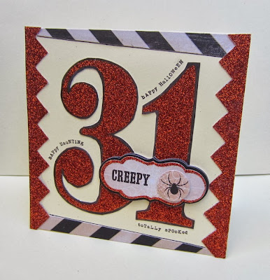 """My Minds Eye """"Happy Haunting Card"""" by Christine Meyer for The Scrapbooking Studio"""