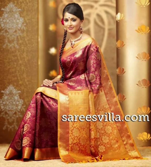 Wedding kanchi pattu sarees sarees villa