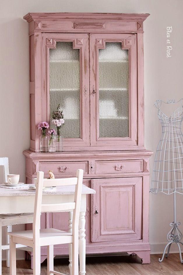 El rinc n vintage de karmela jugando con el color rosa for Muebles la rosa