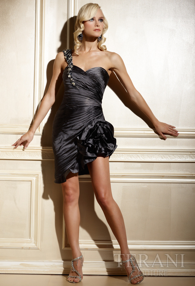 american idol haley dress. Haley#39;s one shoulder rosette
