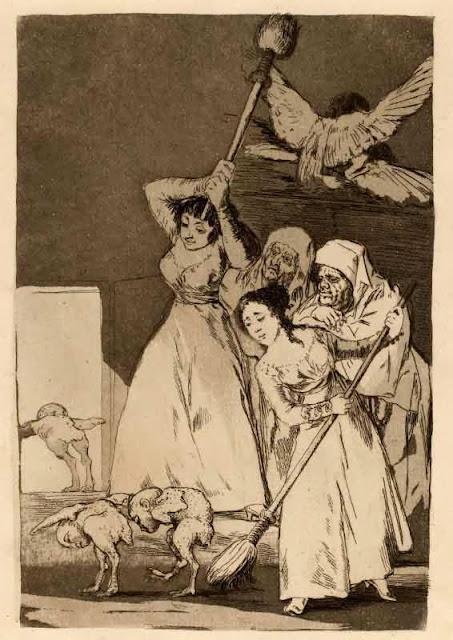 Goya, Là ils sont plumés