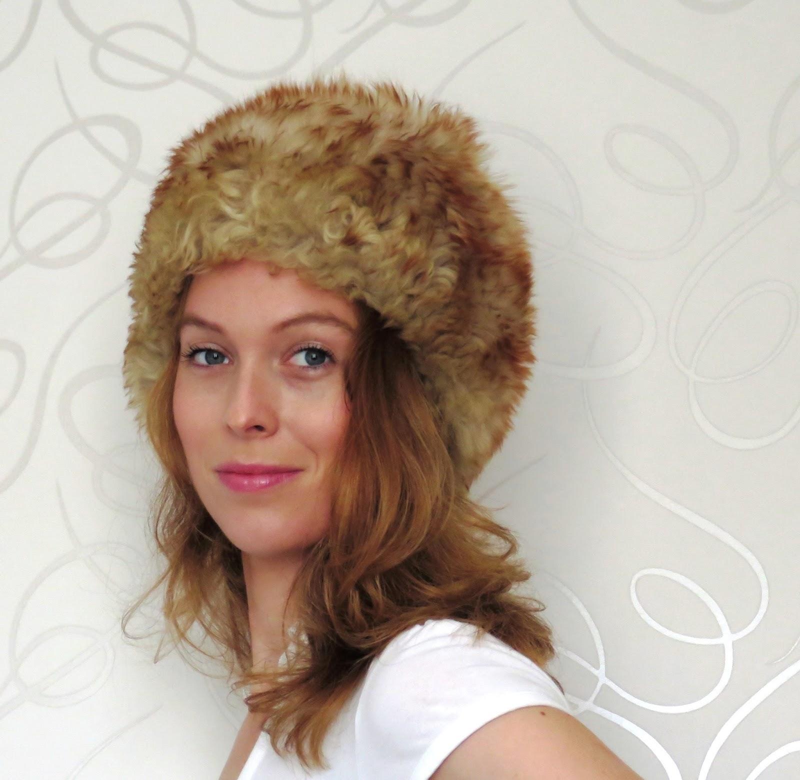 fur hat bont hoed russia rusland