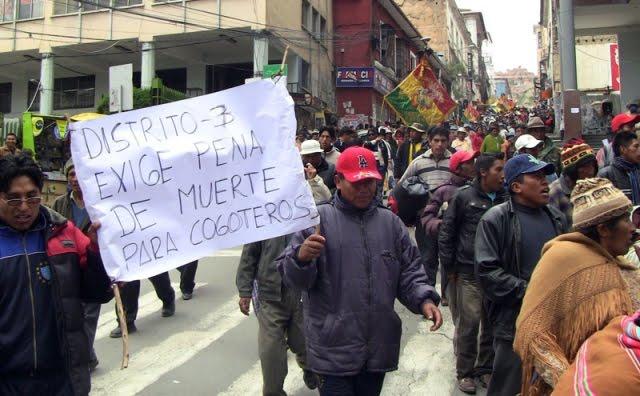 Inseguridad en El Alto