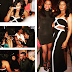 FASHION: Omotola Sexy in Black & White Dress at Event in Ghana
