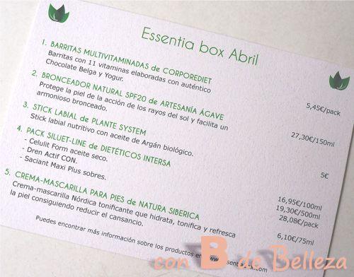 Segunda EssentiaBox