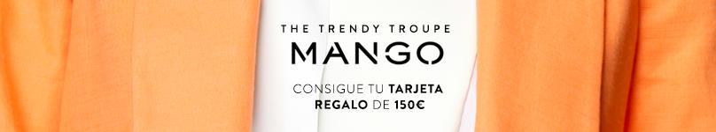 SORTEO TARJETA MANGO 150 EUROS