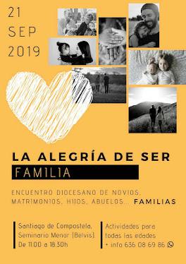 - - 21  de  septiembre  2019 - -      con   FAMILIAS  Y  NOVIOS