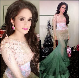 Foto Rambut Mulan Jameela Model Terbaru 2014