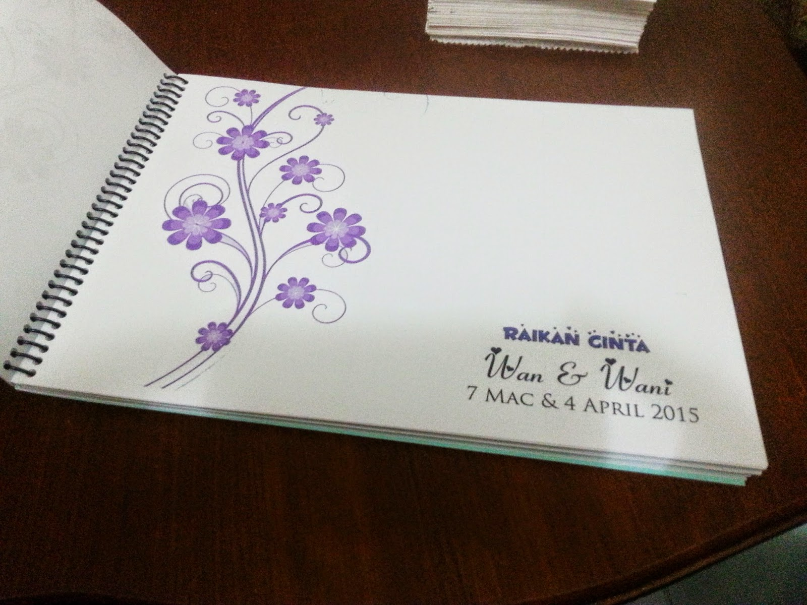 guest book customade