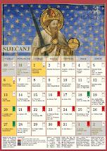 Liturgijski kalendar za 2019. god.
