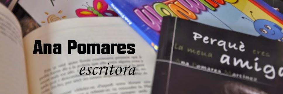 Ana Pomares: escritora