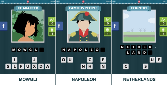Icomania: cheats, hints, oplossingen en antwoorden - Level 8