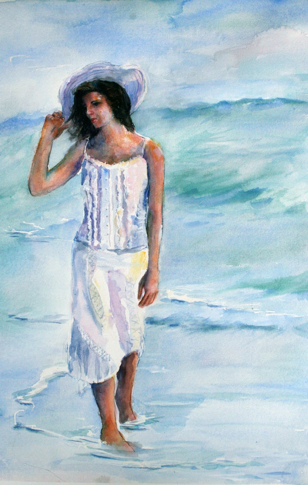 Girl on the Beach