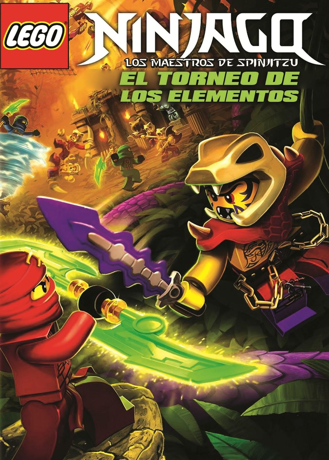 LEGO Ninjago: Torneio dos Elementos – Dublado (2015)