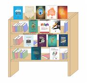 Estantería de Libros de la Dra. @BarbaraCabrera (autoría, coordinación y coautoría)