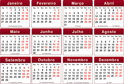 Base calendário 2014 photoshop
