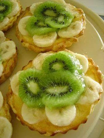 Recette des tartelettes à la crème d'amandes et aux fruits