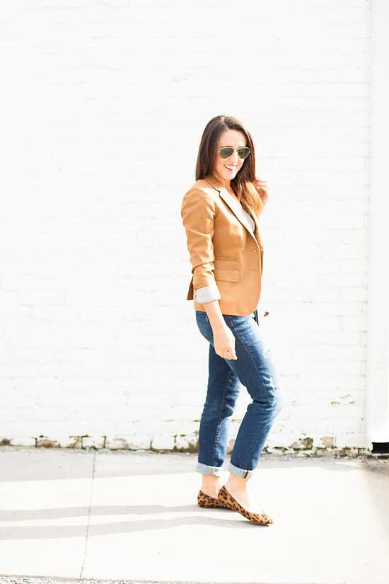 Here&Now: dressed up boyfriend jeans