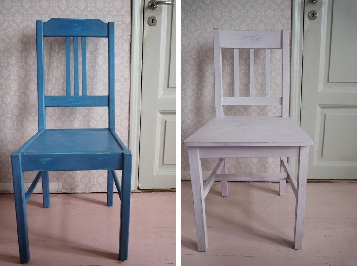Keittiön tuolien värit ja lisätietoa ihanasta maalista
