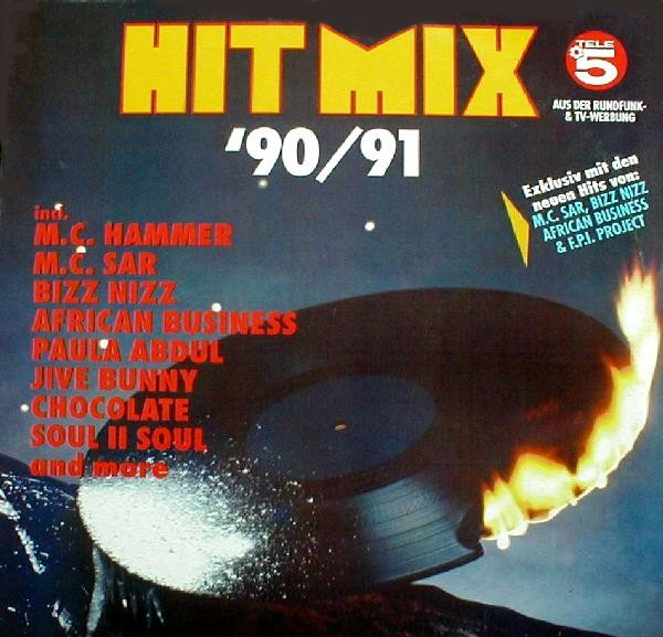 Hit mix 39 90 91 2cd set 38 original artists non stop mix for 90s house music hits