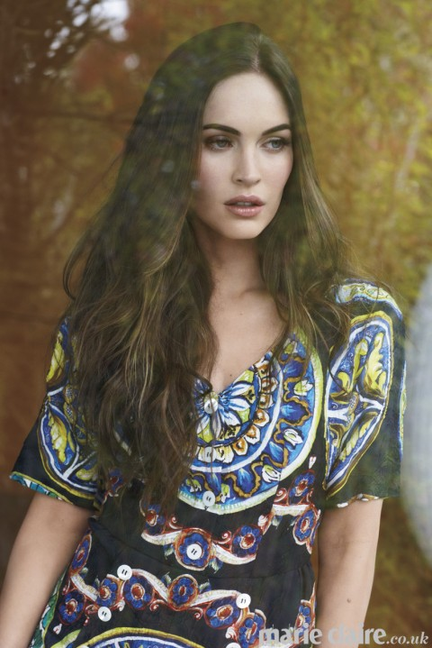 megan fox in dolce and gabbana marie claire uk march 2013