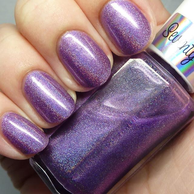 Seventy-Seven Nail Lacquer Purple No. 77