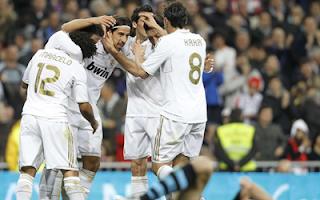 أهداف مباراة ريال مدريد و اوساسونا 5-1 في الدوري الاسباني 31-3-2012