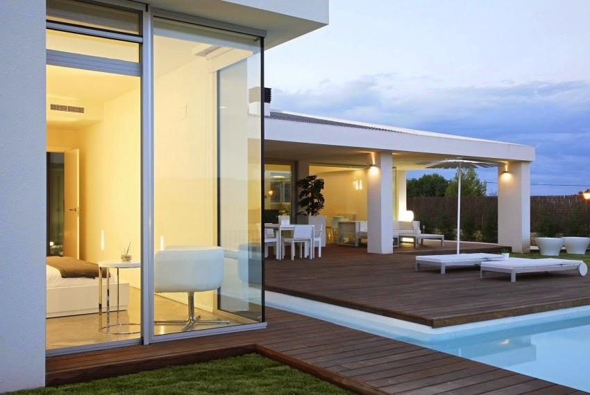 Casa gora estilo minimalista vic projects espa a - Casas minimalistas en espana ...