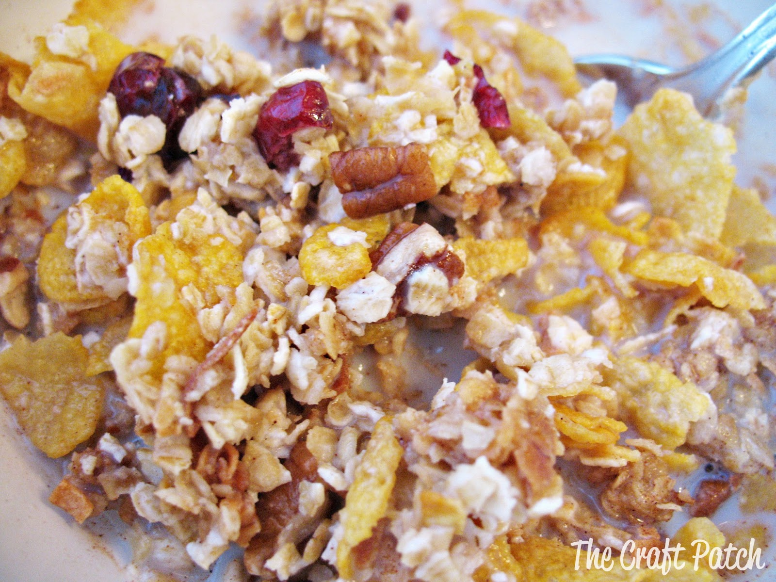 The Craft Patch: Easy Homemade Granola