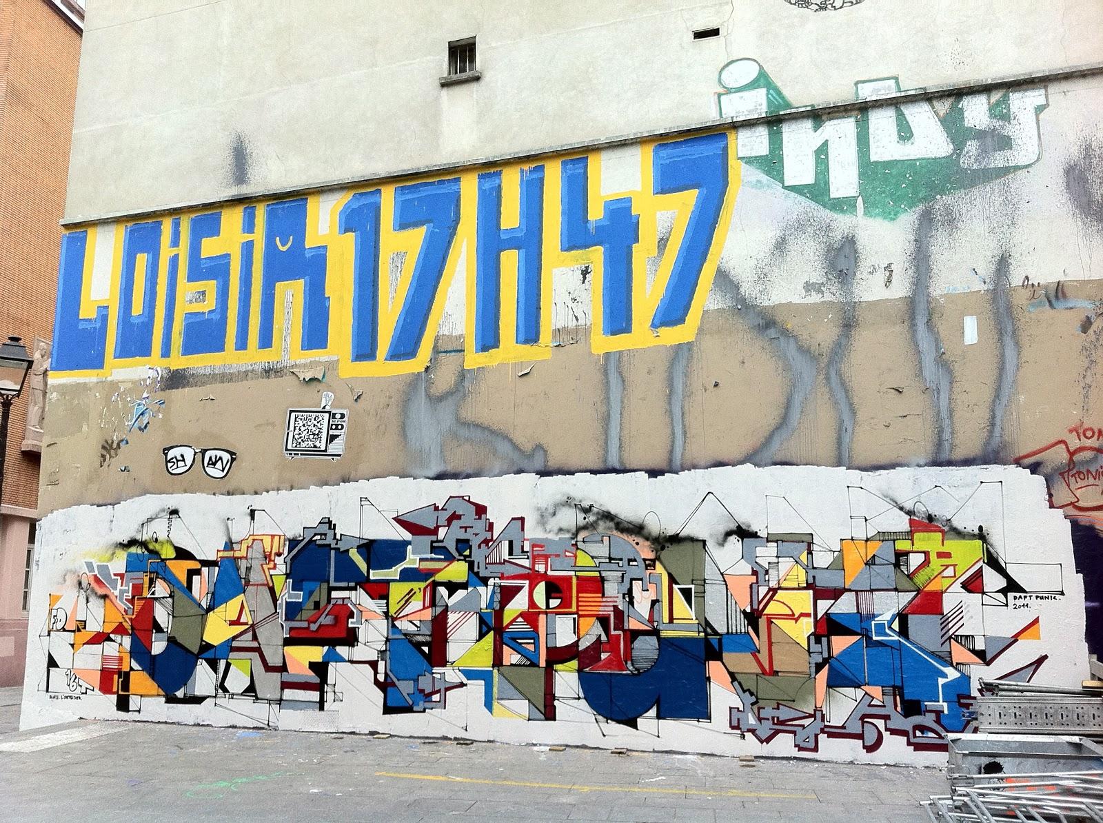 Dots paris daft loisir for Daft punk mural