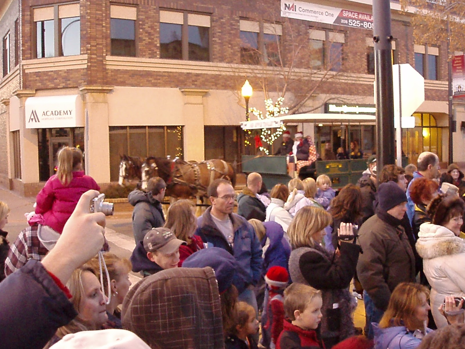 Idaho corporate income tax due date - The Crowd Downtown For The 2011 Idaho Falls Tree Lighting Ceremony