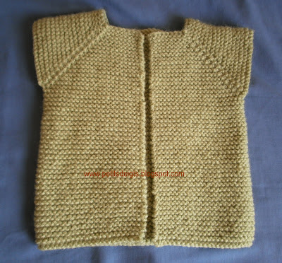 comment tricoter une patte de boutonnage