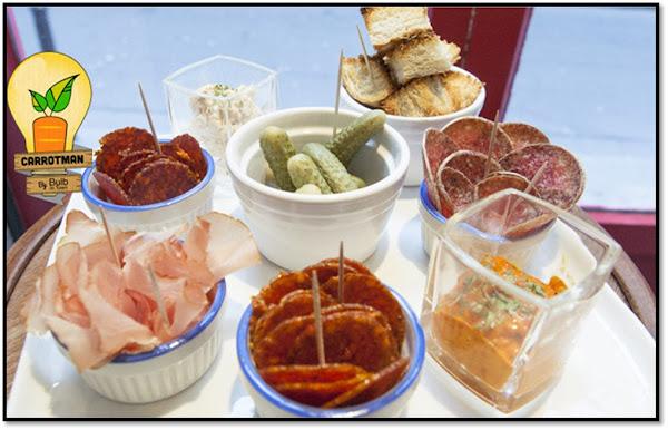 Beashka bistrot gastronomie hongroise Europe centrale Paris 3ème rue Chapon paprika saucisse jambon charcuterie hongrie