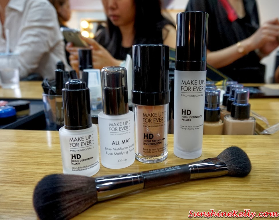 Make Up For Ever HD Makeup, MUFE, Make Up For Ever, Make Up For Ever HD Pressed Powder, Make Up For Ever HD Elixir, All Mat, HD Foundation and HD Primer