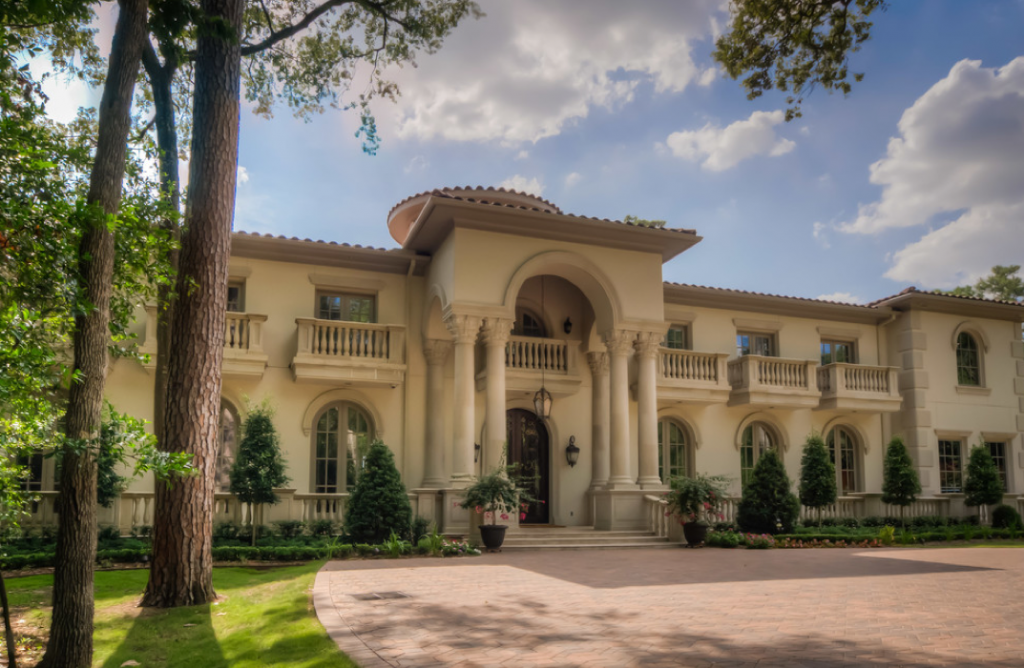 Homes mansions mediterranean mansion in houston tx Mediterranean style homes houston