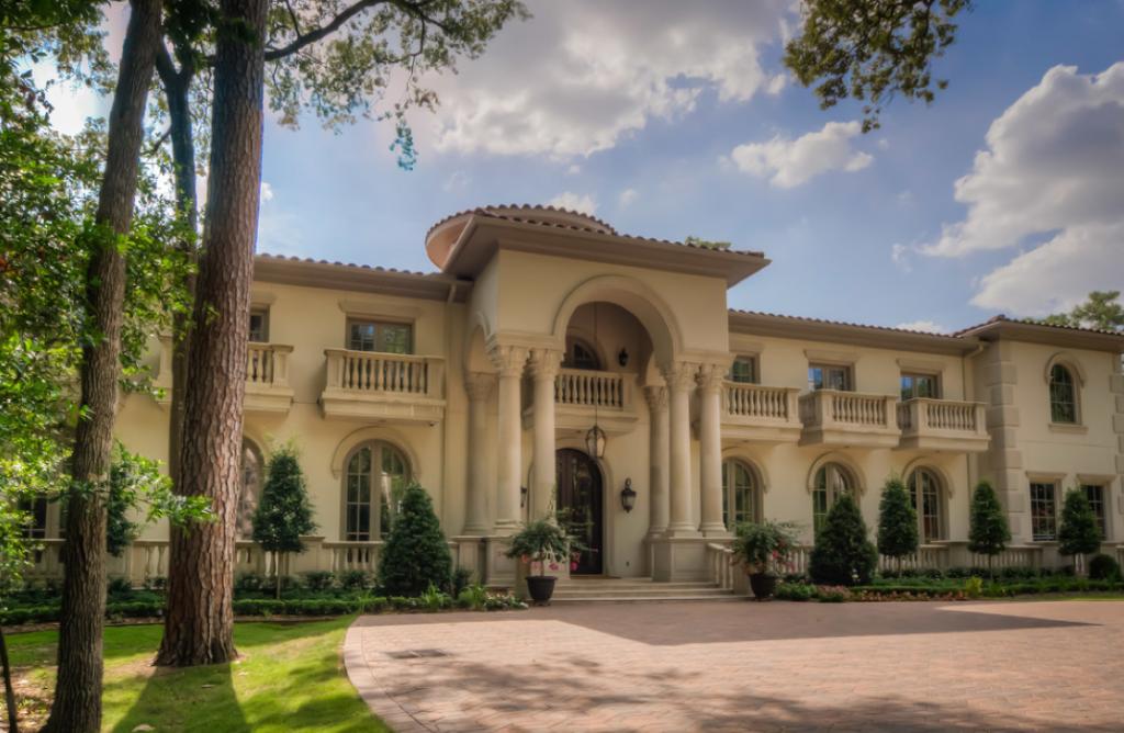 Homes mansions mediterranean mansion in houston tx Mediterranean style homes houston